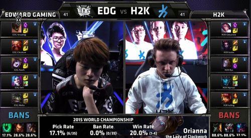 【战报】EDG击败H2K晋级八强